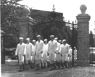 Members of the Navy at Swarthmore
