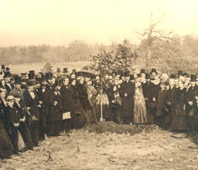 Swarthmore's first class